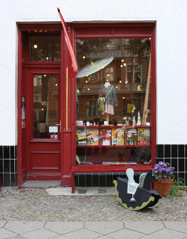 Der Laden Hase Weiss in Berlin // HIMBEER