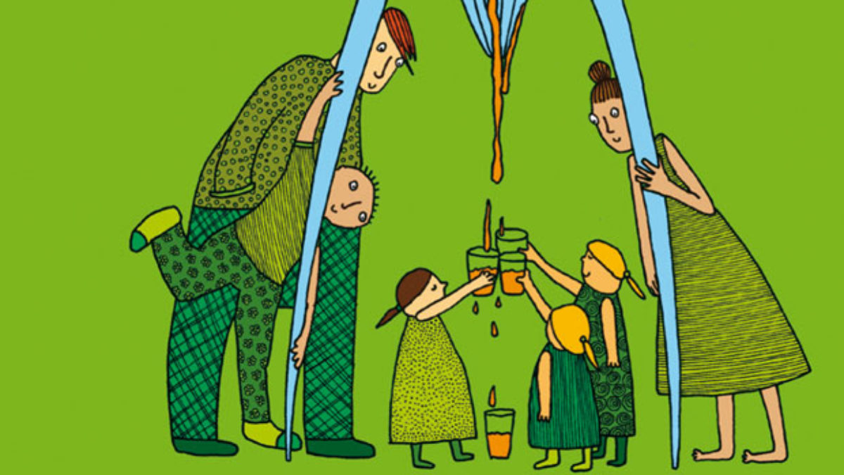 Kinderbuchtipp: Farbe Form Orangensaft // HIMBEER