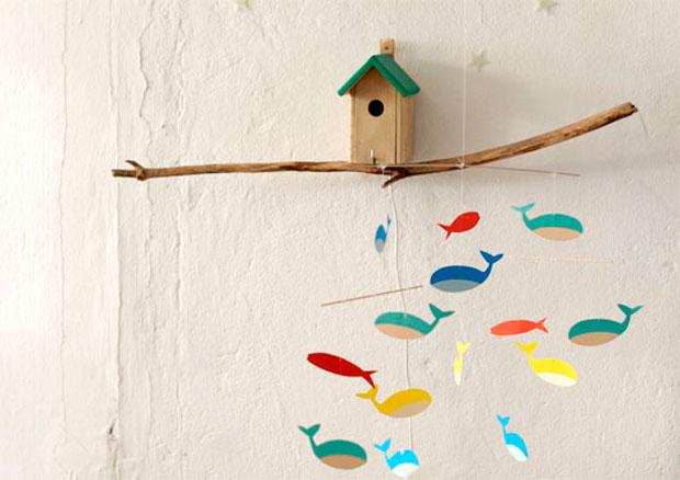 Mobile Aus Bunten Fischen Zum Selbermachen