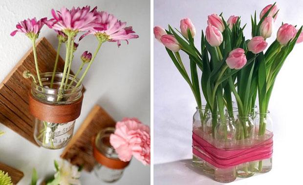 Vasen selber machen: Frühlings-DIY-Idee // HIMBEER