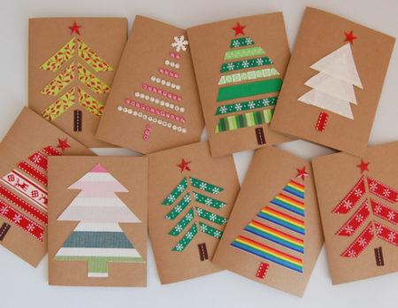 Weihnachtskarten Basteln Mit Kleinkindern.Diy Stricken Nähen Bauen Und Basteln Mit Kindern Himbeer