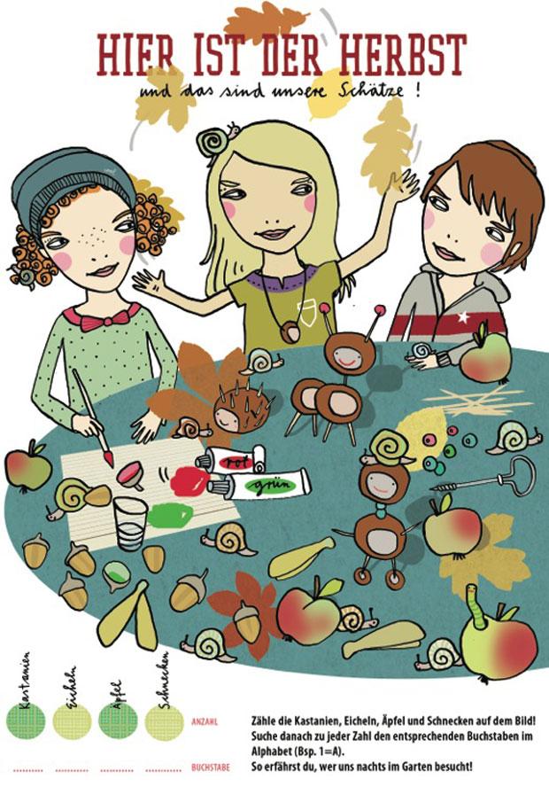 Kinderrätsel HIMBEERCHEN im HIMBEER Magazin für Berlin mit KIND // HIMBEER