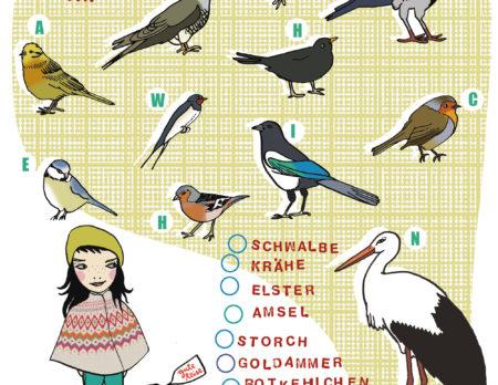 Kinderrätsel HIMBEERCHEN Zugvögel | BERLIN MIT KIND