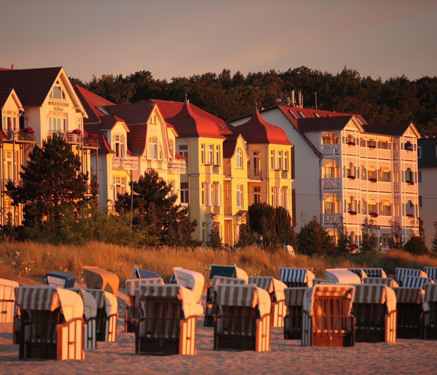 Abendsonne am Strand auf Usedom // HIMBEER