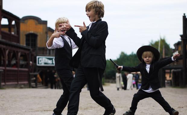 Ausflugsziele mit Kindern in Brandenburg: Westernstadt El Dorado in Templin // HIMBEER