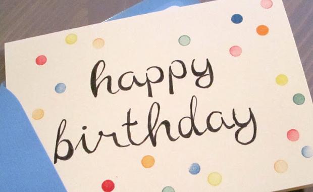 Basteln Mit Kindern Gestempelte Geburtstagskarten Himbeer Magazin
