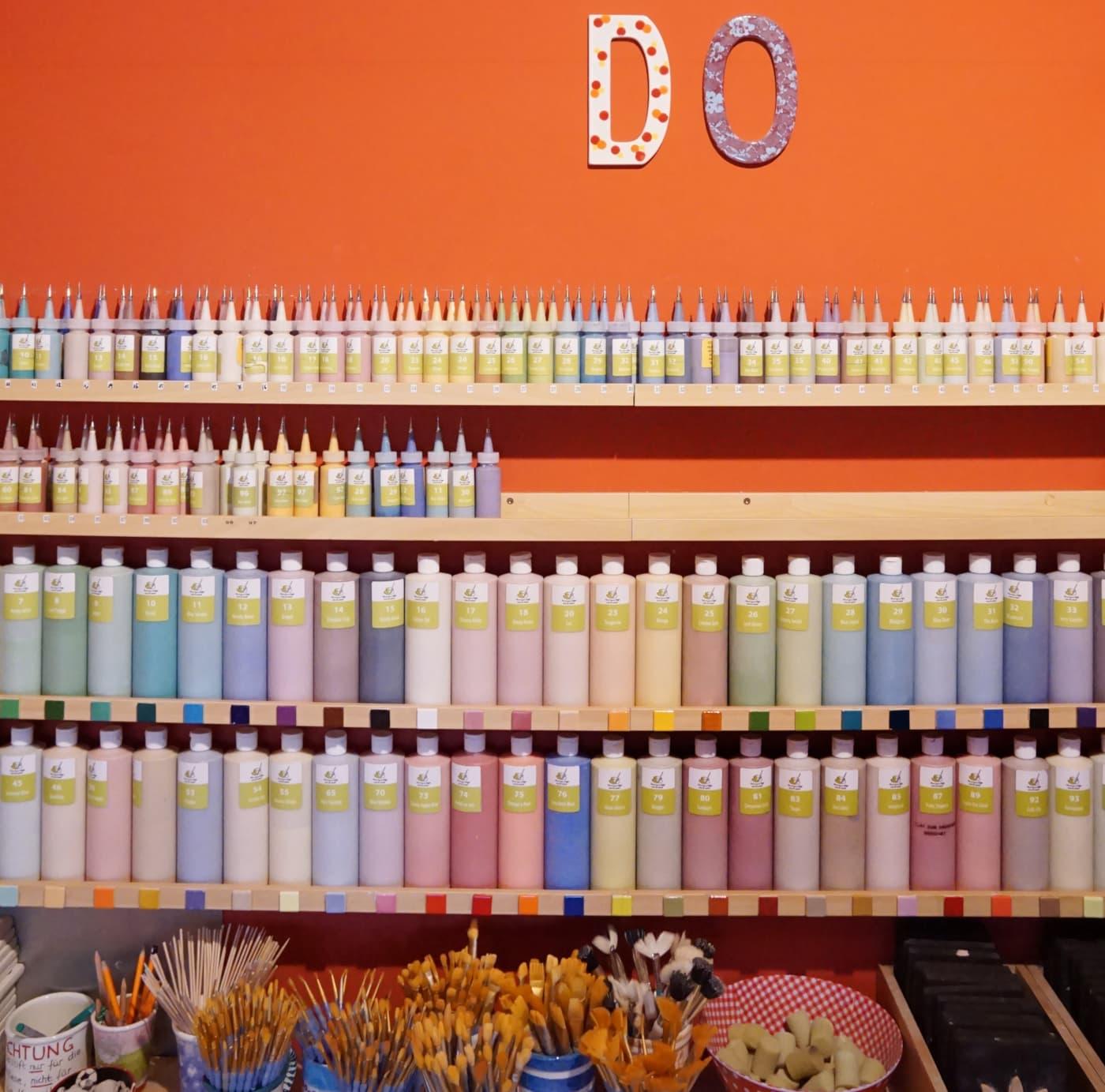 DIY-Sets zum Bestellen: Paint your Style // HIMBEER