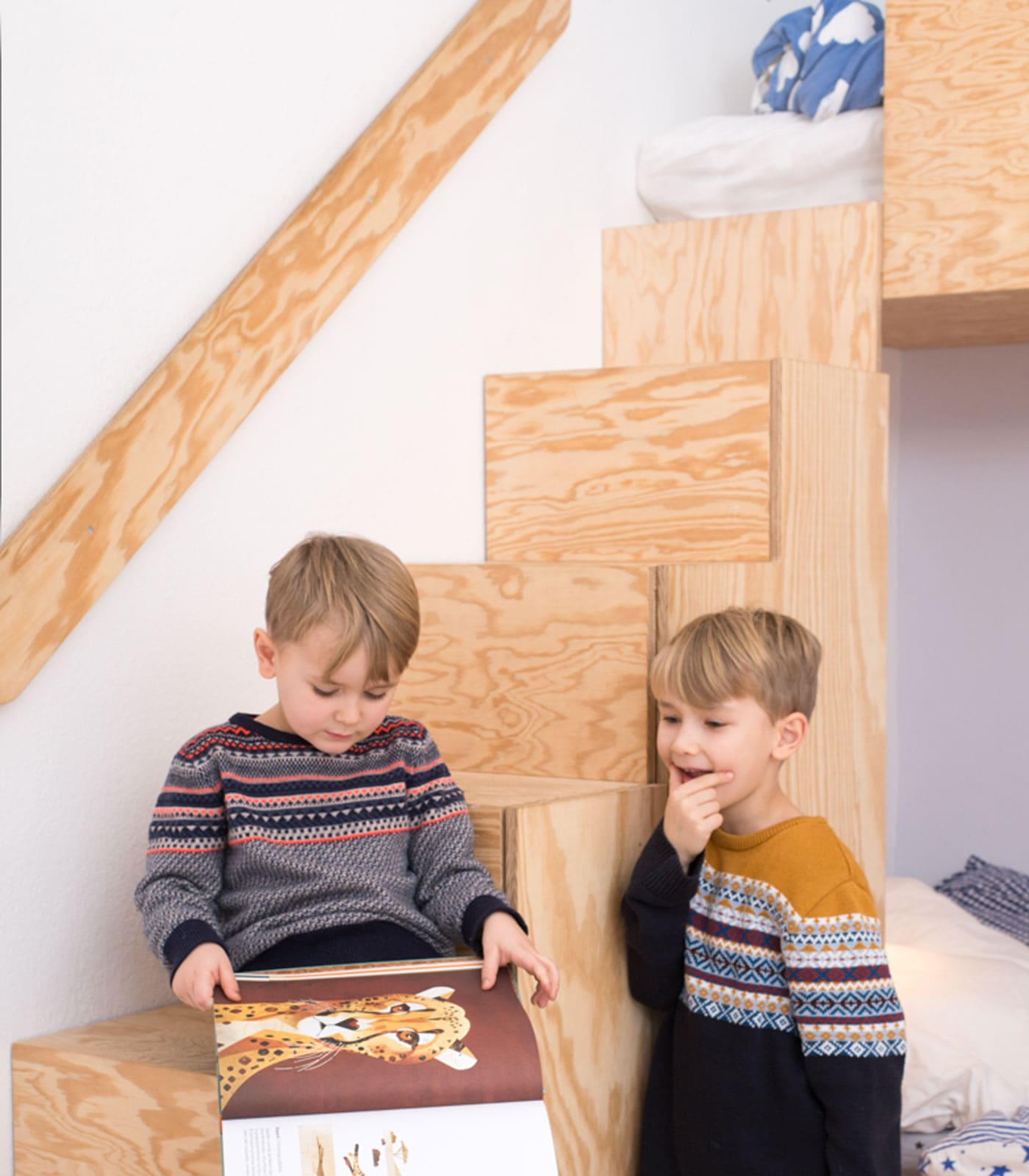 Einrichtungstipps zum Wohnen mit Kindern: passgenaue Kinderzimmereinbauten // HIMBEER