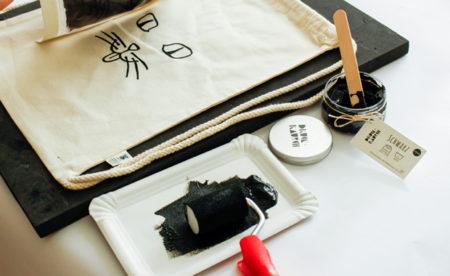 DIY-Sets für zu Hause: Druckrausch – Siebdruck-Sets für Kinder // HIMBEER
