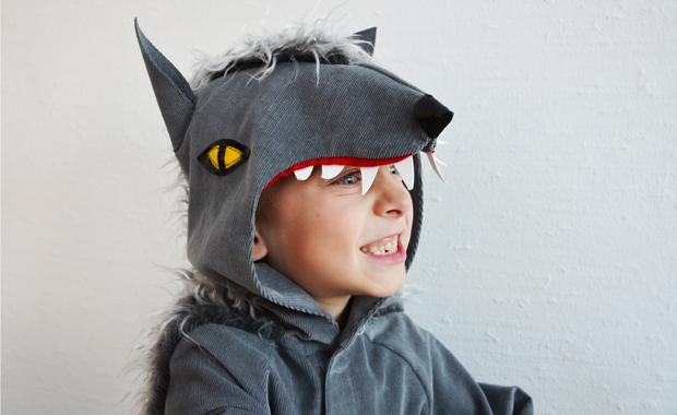 Lieblingssachen zum Verkleiden für Kinder: Werwolfkstüm // HIMBEER