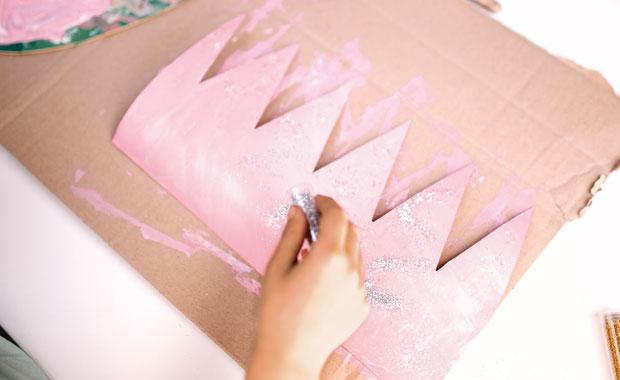 Geburtstags-Krone – DIY für Kinder // HIMBEER