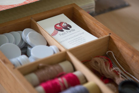 Details im Atelier der Spielzeugdesignerin // HIMBEER