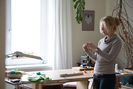 Hinter den Kulissen von Etsy: Atelierbesuch bei Kerstin Bauer, Spielzeugdesignerin // HIMBEER