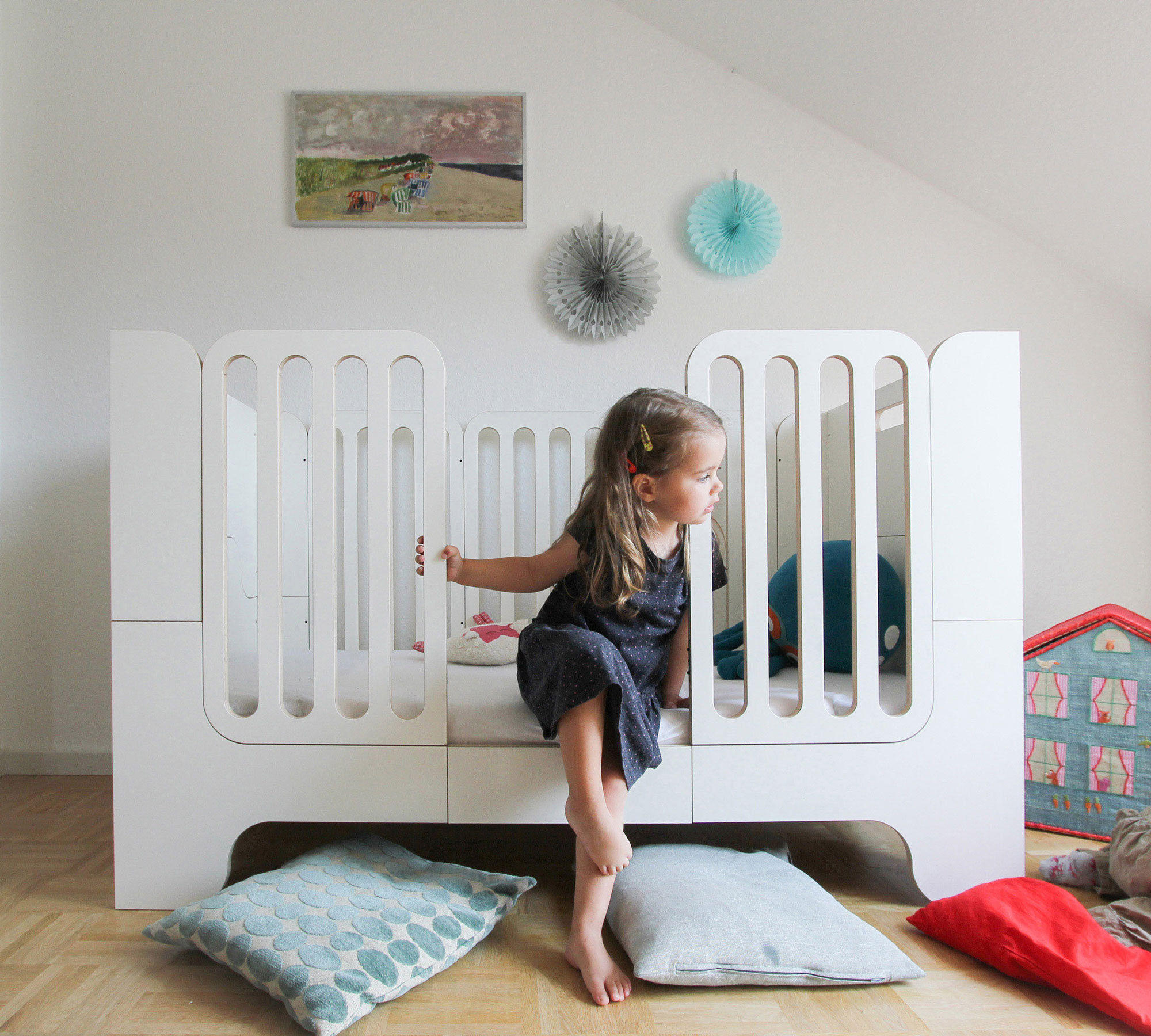 kindgerechtes design kinderbetten f r kinder empfohlen von afilii berlin mit kind. Black Bedroom Furniture Sets. Home Design Ideas
