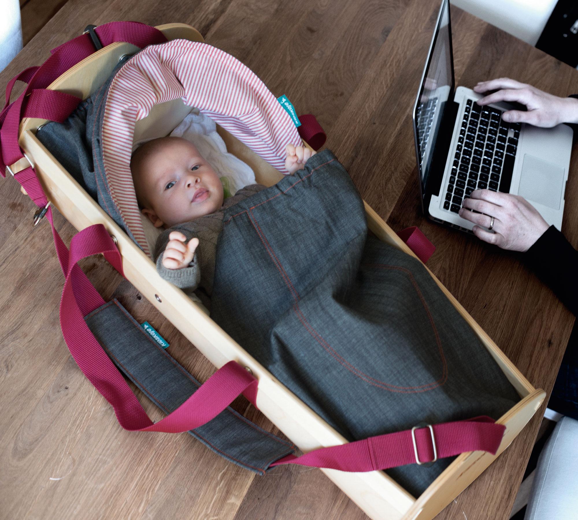Mitwachsende Wiegen und Kinderbettet: Kidskoje // HIMBEER