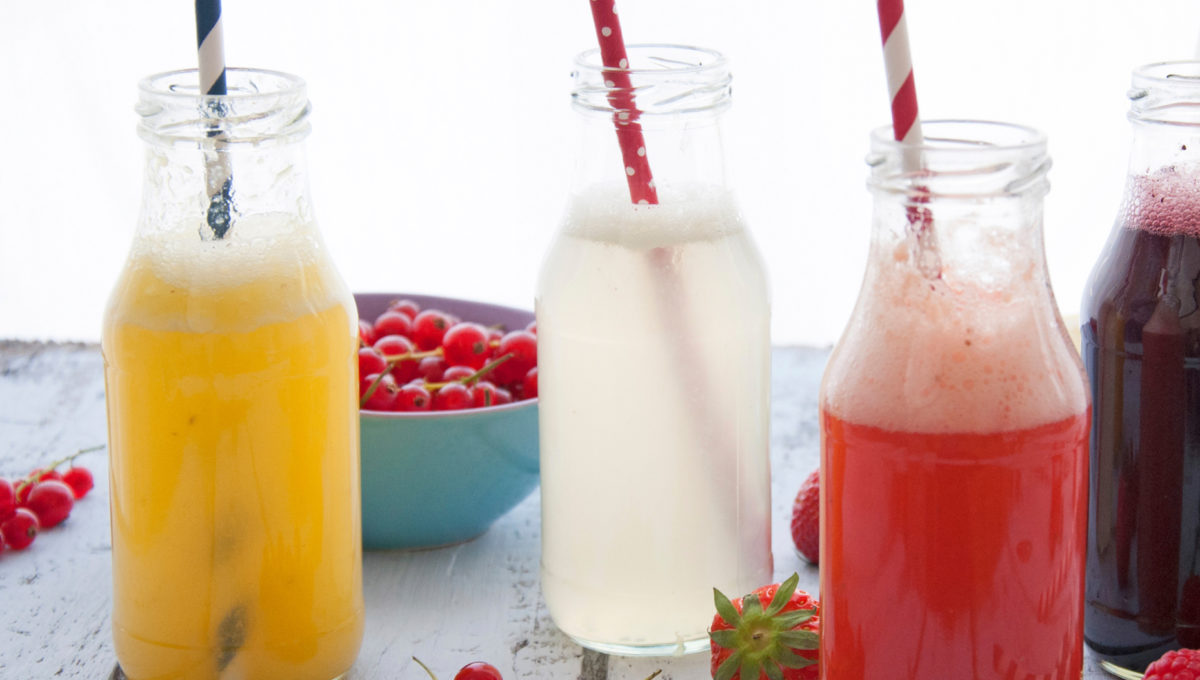 Limonade selber machen: Vier Limo-Rezepte // HIMBEER