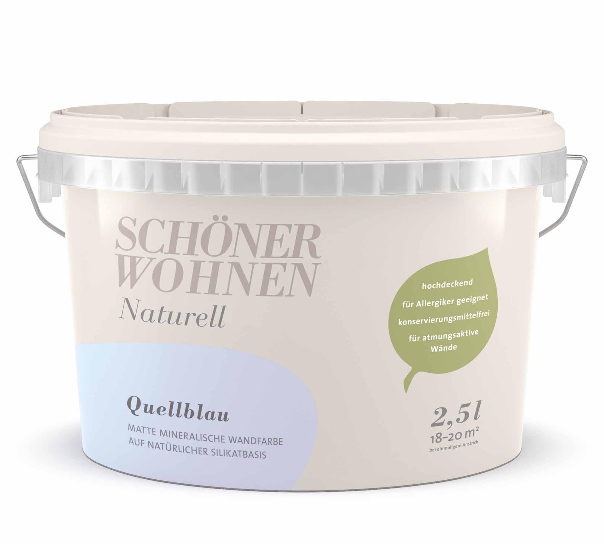 Schöner Wohnen Quellblau: Wandfarbe Fürs Kinderzimmer // HIMBEER