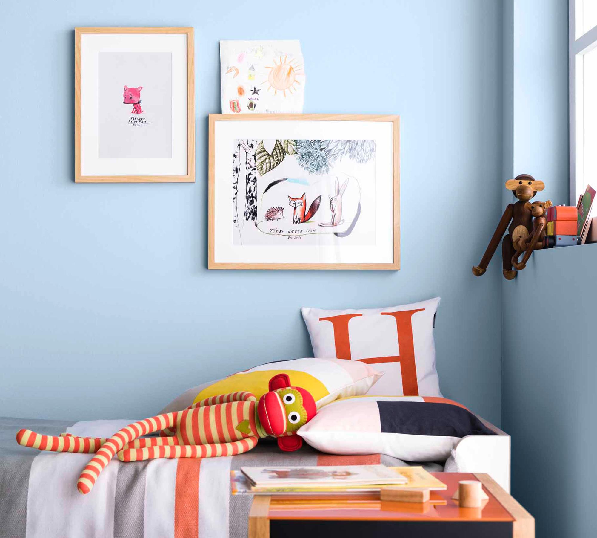 Wandfarbe Fürs Kinderzimmer // HIMBEER