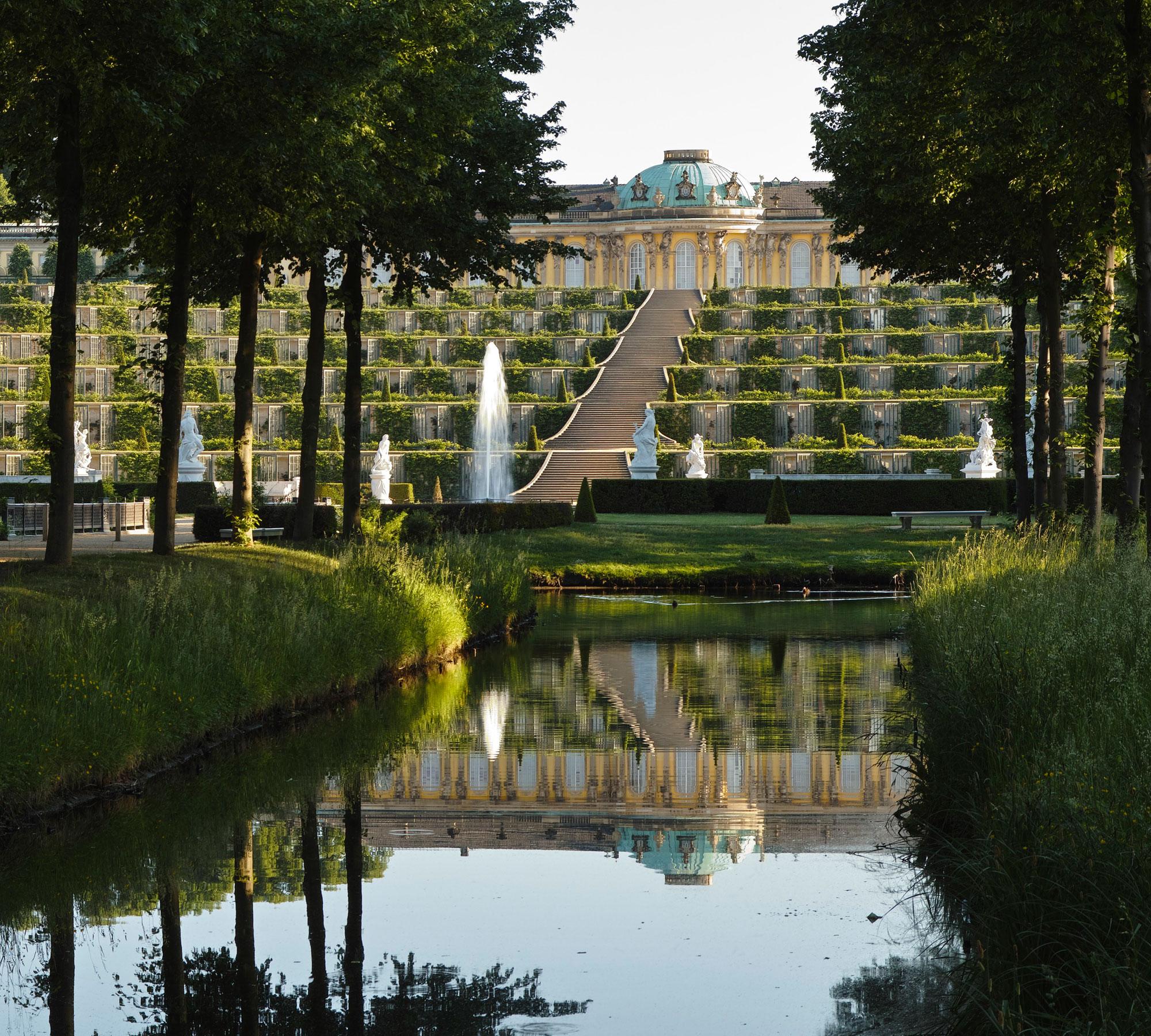 Ansicht der Parks und des Schloss Sanssouci |HIMBEER Magazin