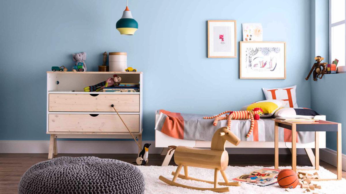 wandfarbe orange kinderzimmer wohnideen. Black Bedroom Furniture Sets. Home Design Ideas