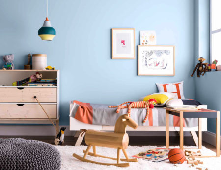 Kinderzimmerwandfarbe | BERLIN MIT KIND