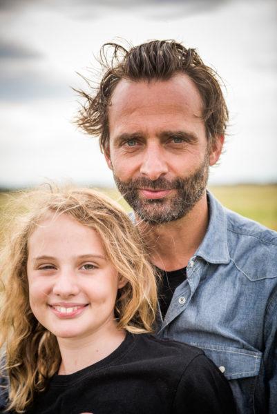 Neue Väter: Eike mit Rosa | BERLIN MIT KIND