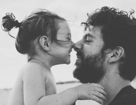 Vaterschaft, Berlin mit Kind