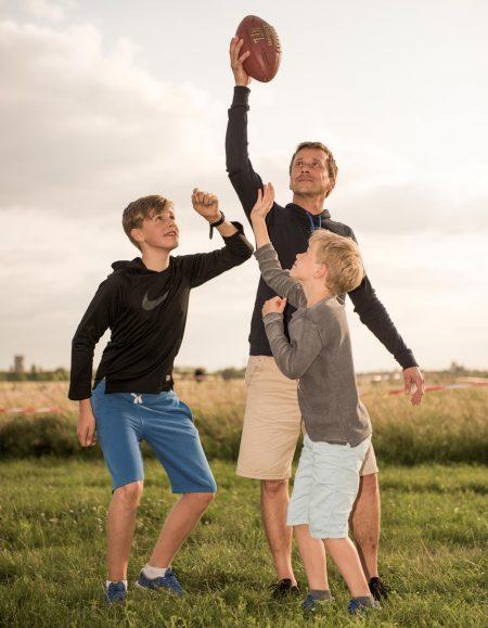 Vater und Söhne: Jan mit Milosh und Jasha // HIMBEER