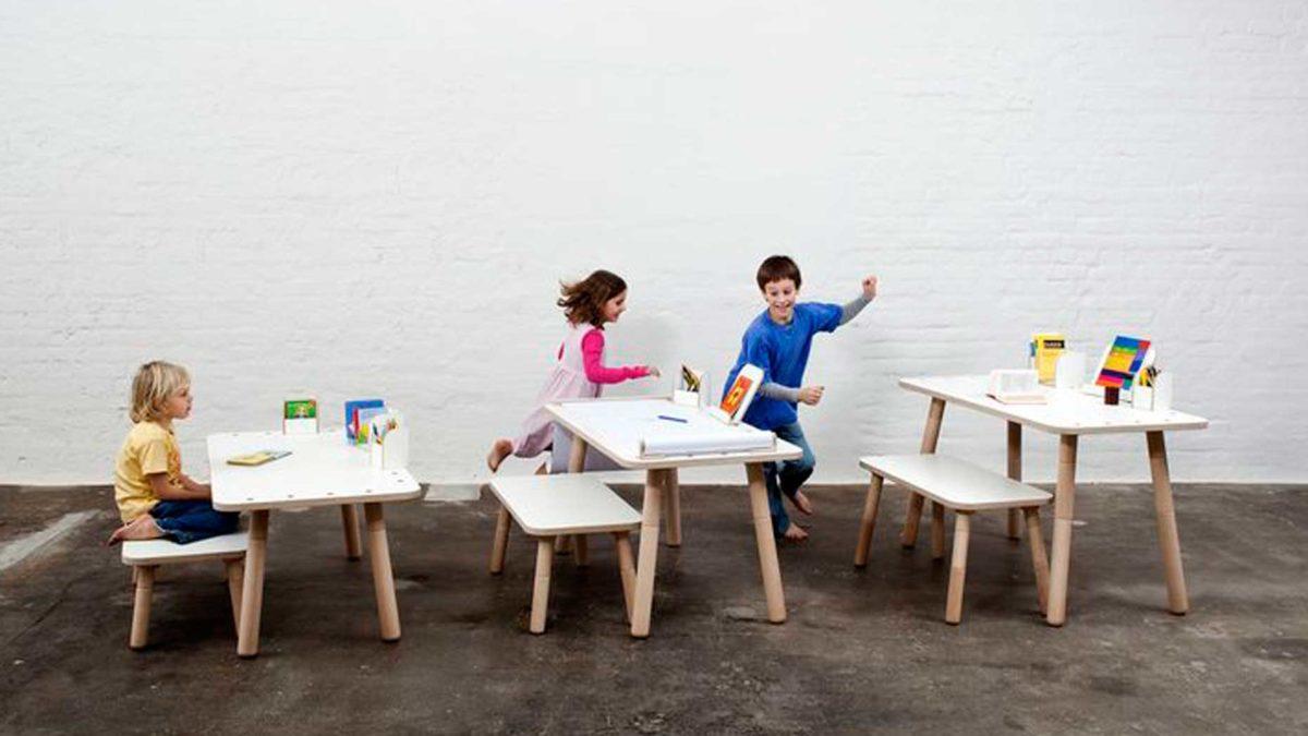 Kindgerechtes Design Intelligente Kinderspieltische Und Mitwachsende Schreibtische