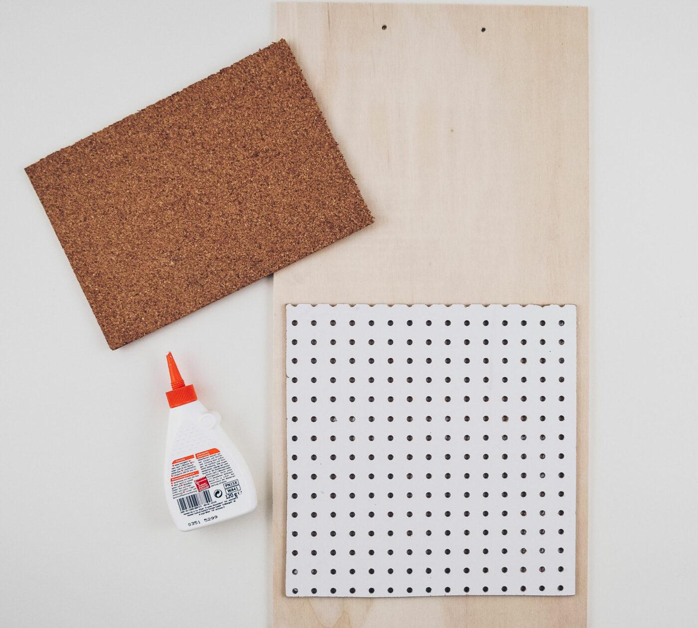 DIY-Wandorganizer: Bauanleitung für mehr Ordnung auf dem Schreibtisch // HIMBEER