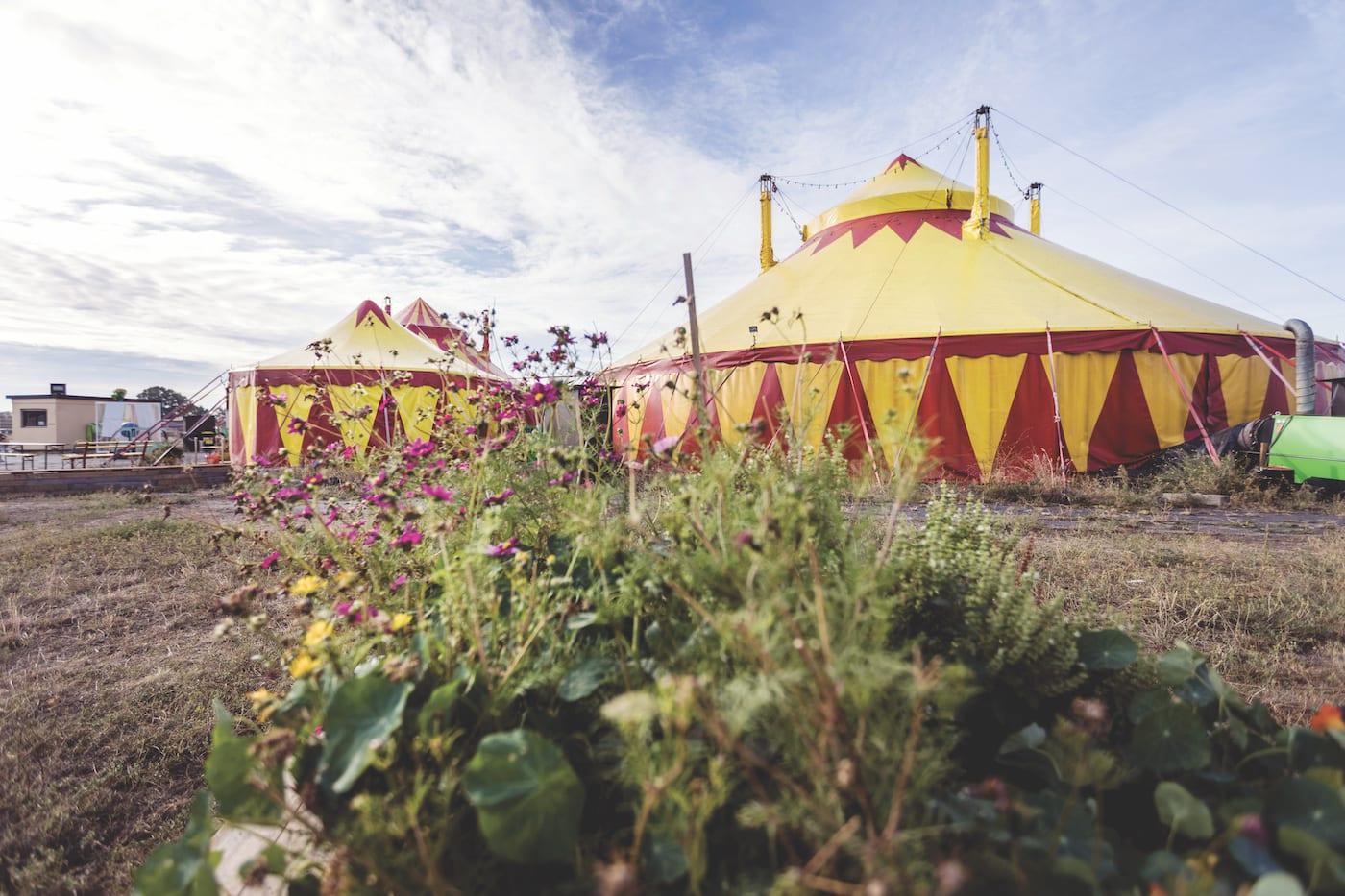 Kindergeburtstag Zirkus Grundschulalter 6 bis 12 Jahre HIMBEER Berlin Cabuwazi
