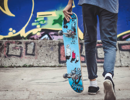 Skateboard Teenager-Geburtstag in Berlin mit Kind | berlinmitkind.de