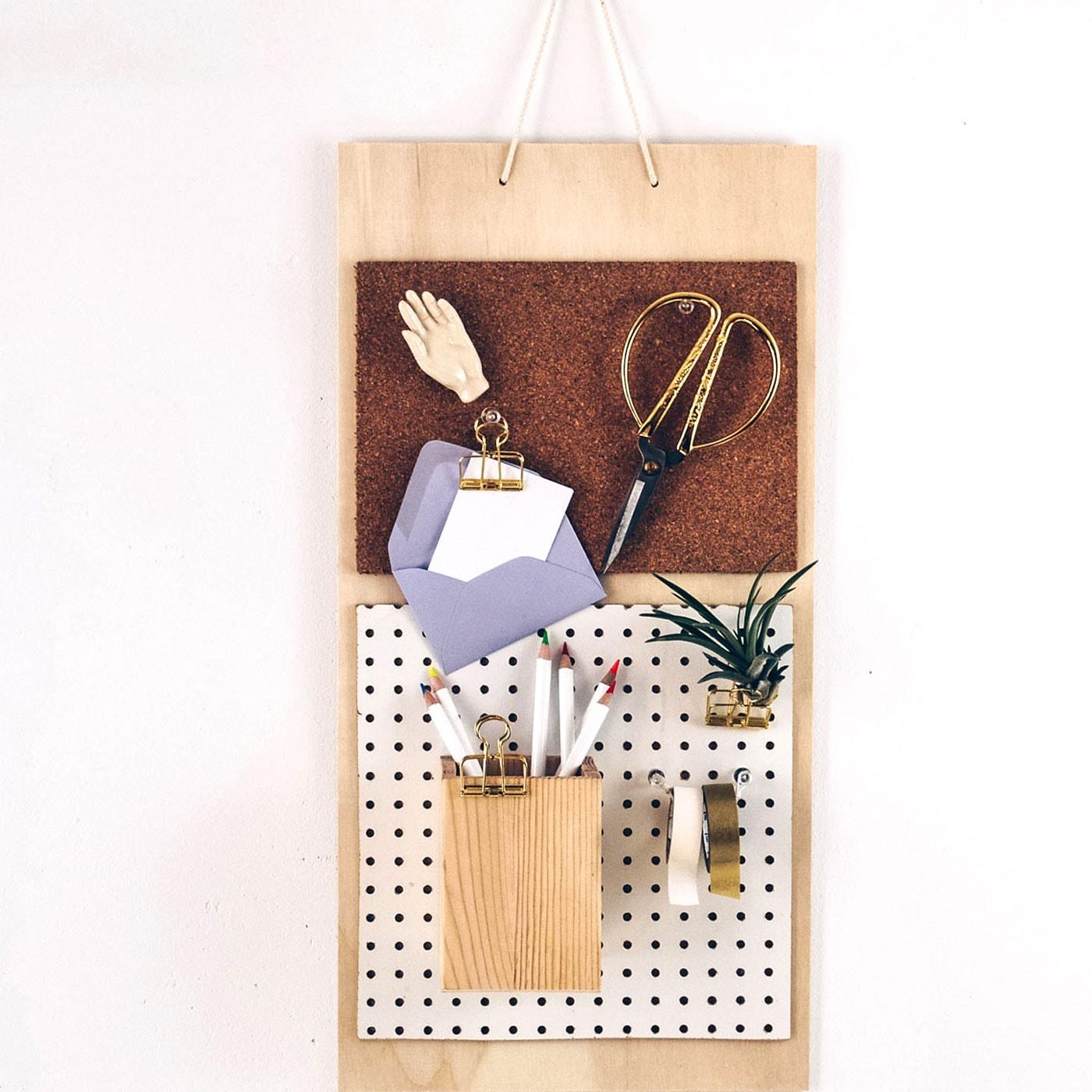 DIY-Wandorganizer selbst bauen // HIMBEER