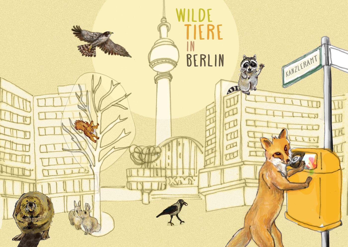 Kindergeburtstag für Grundschulkinder mit Stadtnatur Berlin // HIMBEER