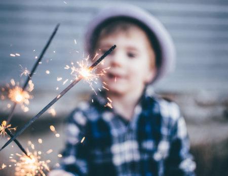 Kindergeburtstag Wunderkerzen | BERLIN MIT KIND