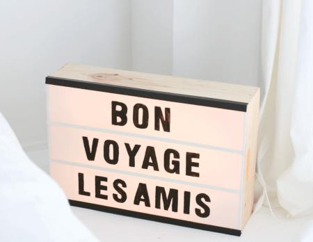 Leuchtkasten mit Buchstaben selber machen | BERLIN MIT KIND