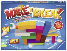 Spielen mit Kindern – Familienspiele: Make'n'Break // HIMBEER