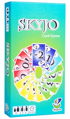 Spielen mit Kindern – Familienspiele: Skyjo // HIMBEER