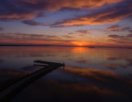 Sonnenuntergang am Wasser | BERLIN MIT KIND