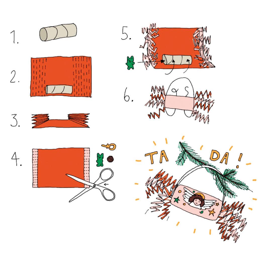 Basteltipps für Weihnachten: DIY-Xmas-Knallbonbons für Kinder // HIMBEER