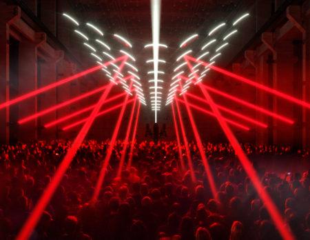 Lichtinstallation im Kraftwerk | BERLIN MIT KIND