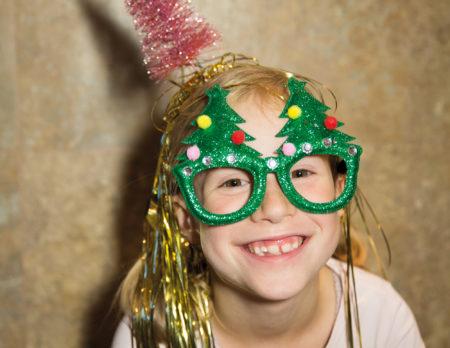 Lustiges Kinder-Weihnachtsbild // HIMBEER