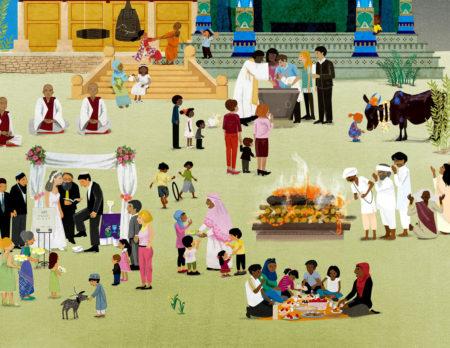 Kinderbuch-Tipp: Wimmelbuch der Weltreligionen | BERLIN MIT KIND