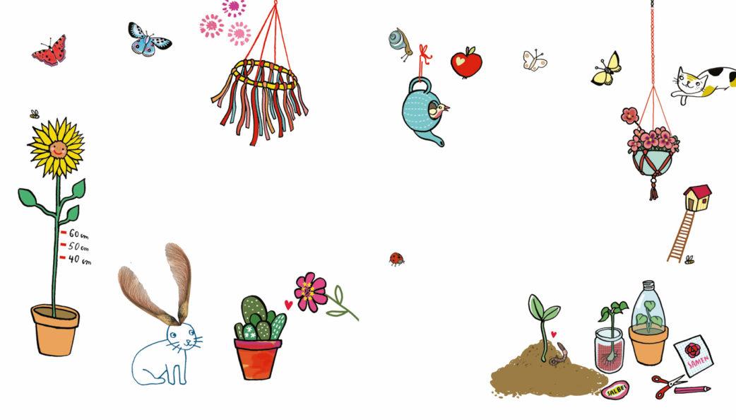Gartenbuch-Tipp: Pflanz dich glücklich von Silke Schmidt   BERLIN MIT KIND