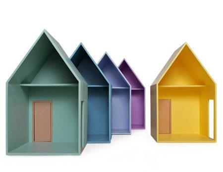 Modulares Puppenhaus von Hase Weiss