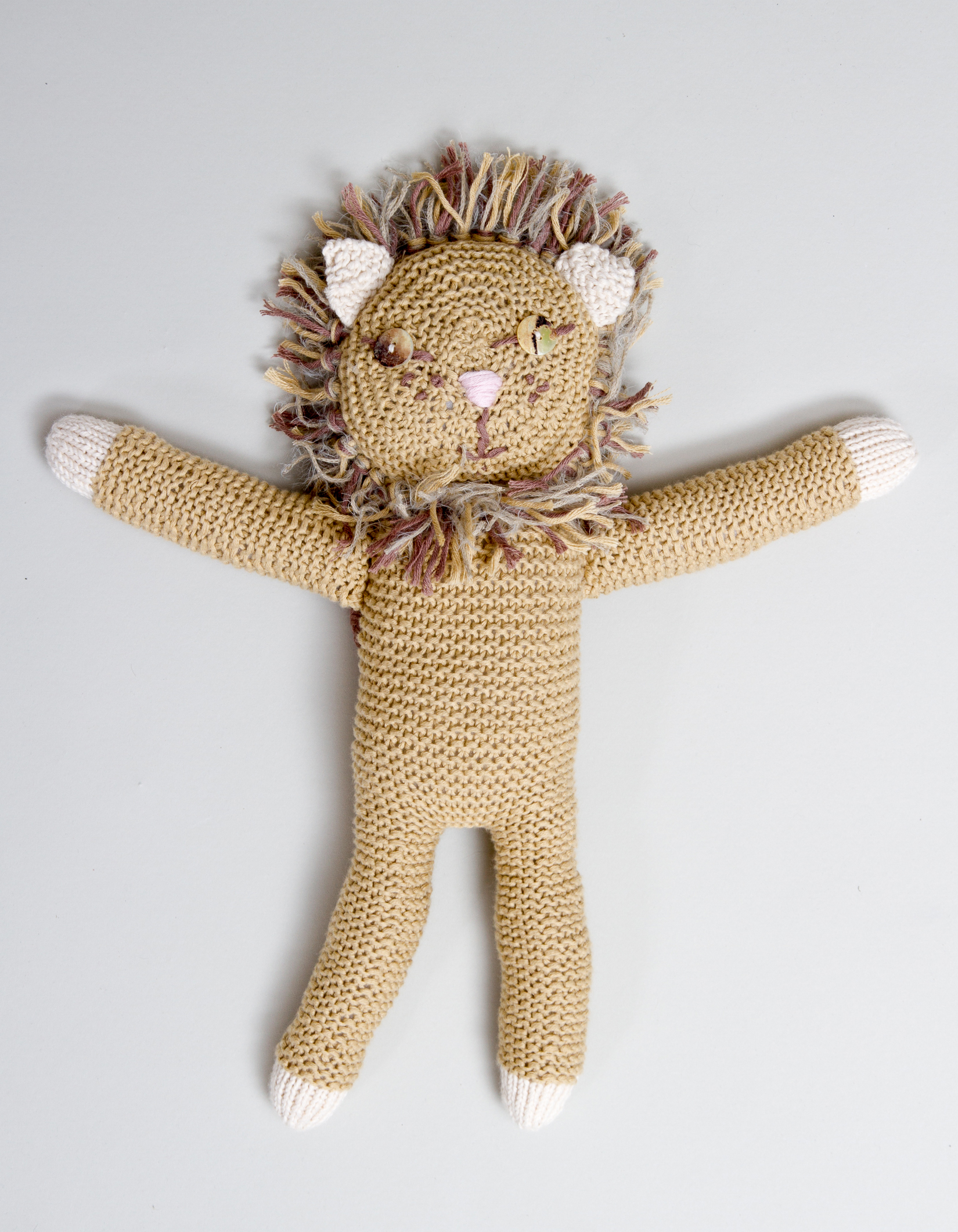 Selber machen: Gestrickter Löwe | Berlin mit Kind