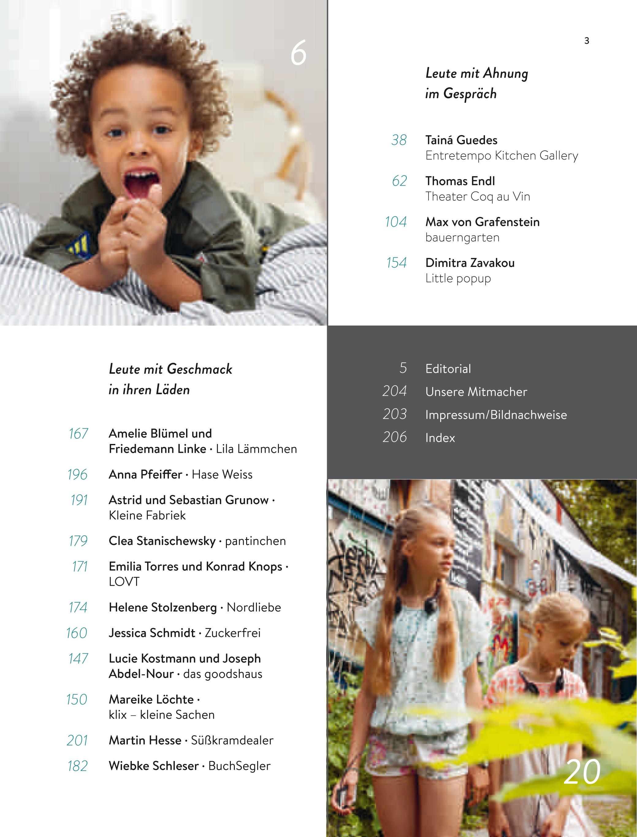 Blick ins Buch: BERLIN MIT KIND 2018 aus dem HIMBEER Verlag