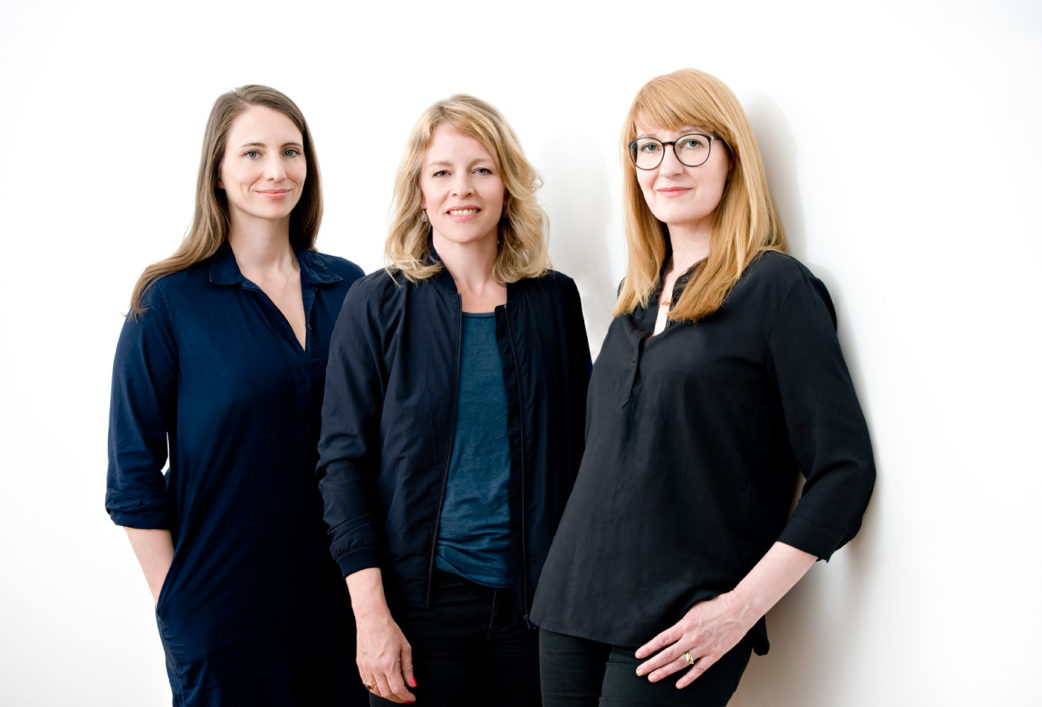HIMBEER Verlag – die Gründerinnen Claudia Steigleder, Esther Bauer, Anja Ihlenfeld // HIMBEER