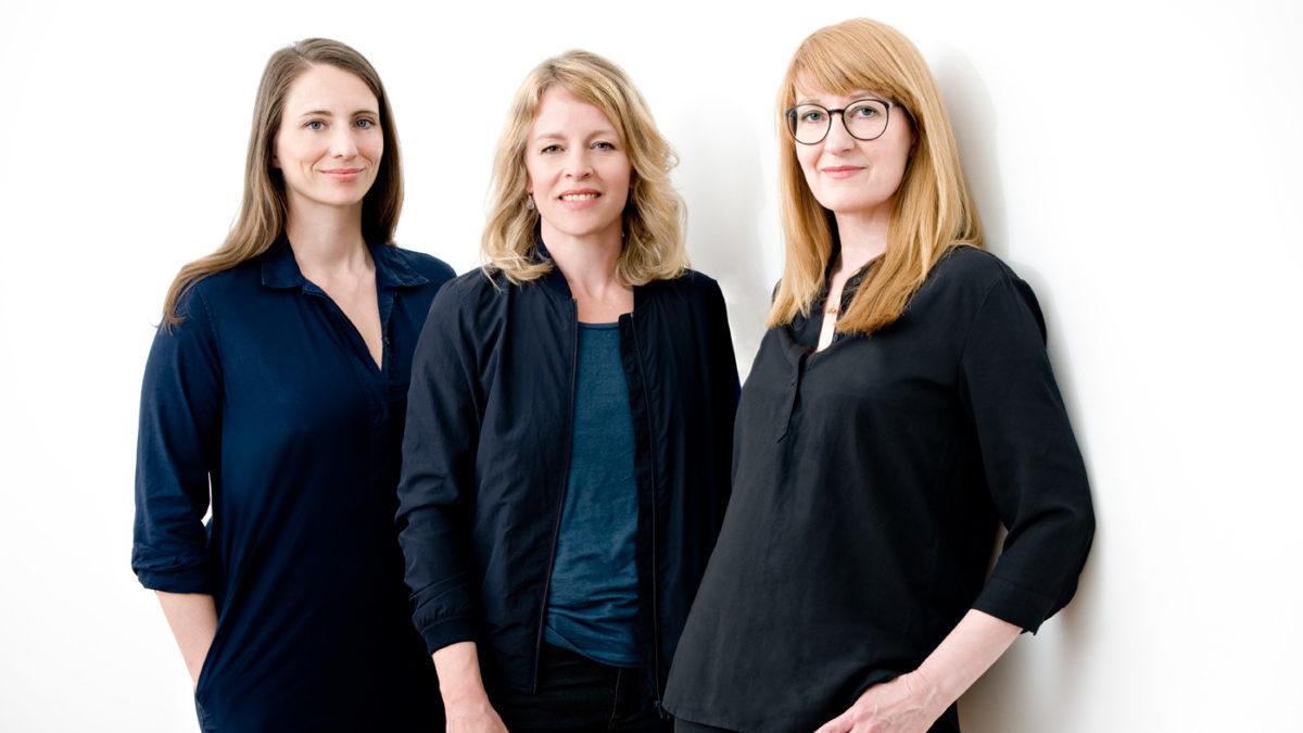 HIMBEER Verlag – die Gründerinnen Claudia Steigleder, Esther Bauer, Anja Ihlenfeld | Berlin mit Kind