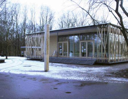 Das neue Gebäude des Freilandlabors im Britzer Garten | BERLIN MIT KIND